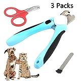 JTENG Krallenschleifer für Hunde und Katzen, Nagelschleifer Krallenpflege, USB Wiederaufladbar...
