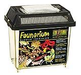 Exo Terra Faunarium mini - Allzweckbehälter für Reptilien, Amphibien, Mäuse und Insekten,18 x 12...