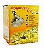 Lucky Reptile BSD-70 Bright Sun UV Desert, 70 W, Metalldampflampe für E27 Fassung mit UVA und UVB...