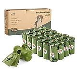 Toozey 360 Hundekotbeutel Biologisch Abbaubar mit Beutelspender, Auslaufsicher & Ohne Duft, Extra...