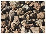 Der Naturstein Garten 10 kg Grill Lava Steine 32-56 mm - Gasgrill Elektrogrill Lavastein Lavasteine...