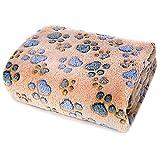 ALLISANDRO Hundedecke Flaushige Decke Super Softe und Warme Hundedecke Fleece Decke/Tier Schlafdeck,...