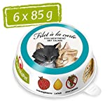 GranataPet Filet à la Carte Thunfisch & Pute, Nassfutter für Katzen, Filet-Stückchen ohne...