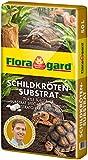 Floragard Schildkrötensubstrat 50l - natürliche Einstreu ohne Dünger - für Landschildkröten u....