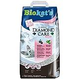 Biokat's Diamond Care Fresh mit Duft - Feine Katzenstreu mit Aktivkohle und Aloe Vera - 1 Sack (1 x...