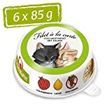 GranataPet Filet à la Carte Hühnchen PUR, Nassfutter für Katzen, Filet-Stückchen ohne Getreide,...