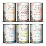 MjAMjAM - Premium Nassfutter für Katzen - Mixpaket 3 - Wild & Kaninchen, Pute, Ente & Geflügel,...
