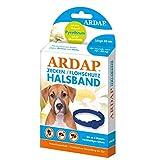 ARDAP Zecken- & Flohschutzhalsband für Hunde bis 25kg - Bis zu 4 Monate nachhaltiger Langzeitschutz...