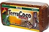 JBL TerraCoco Humus 71026 Bodengrund für alle Terrarientypen Kokoschips komprimiert Torfartig, 600...