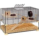Ferplast Käfig für Hamster oder Mäuse Karat 60 Lebensraum für kleine Nagetiere, Struktur auf...